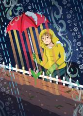 May 2015 Avenue Editorial Illustration