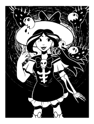 Jezebel Illustration
