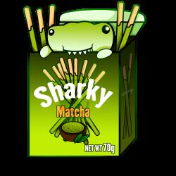 Matcha Sharky Box