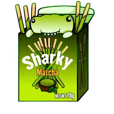 Matcha Sharky Box