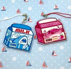 Double sided Milk Charms