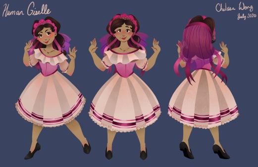 Human Giselle Character Sheet
