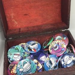 RPG shark buttons